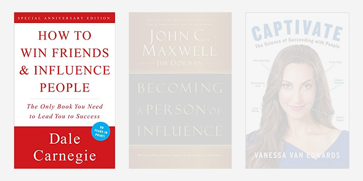 Best books on charisma - How to Win Friends and Influence People.