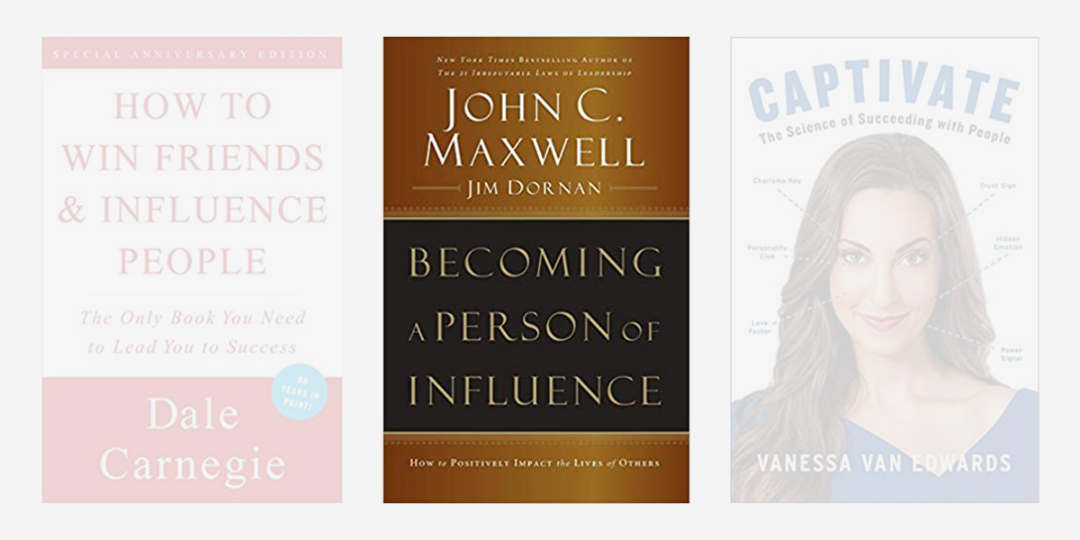 Best books on charisma - Becoming a Person of Influence.