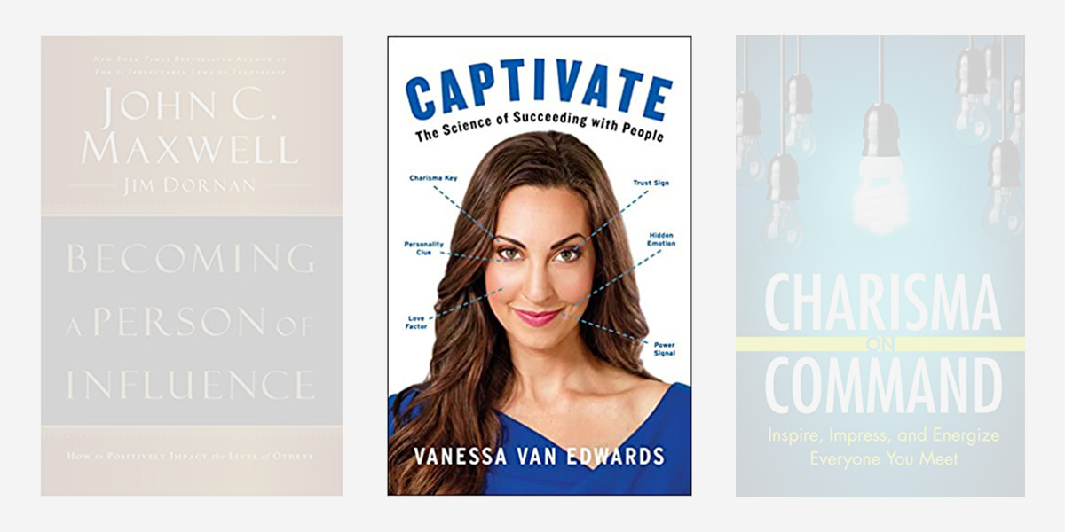 Best books on charisma - Captivate.