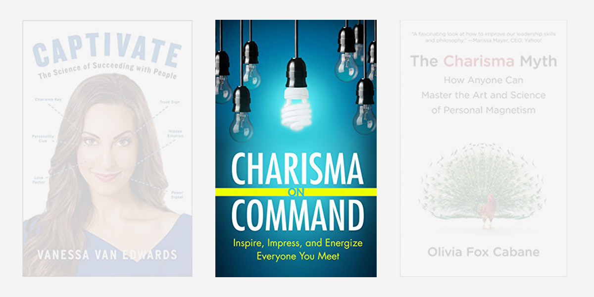 Best books on charisma - Charisma on Command.