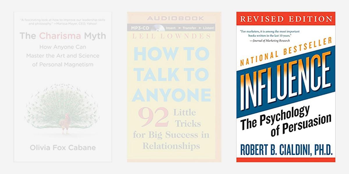 Best books on charisma - Influence.