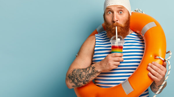 What are the different types of humor? Funny bearded man.