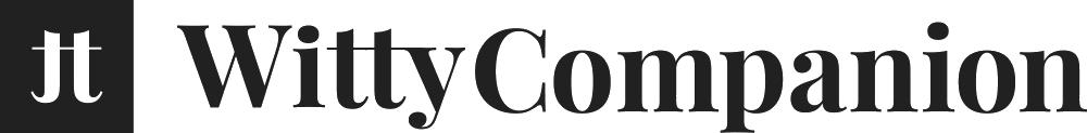 Witty Companion logo - header.