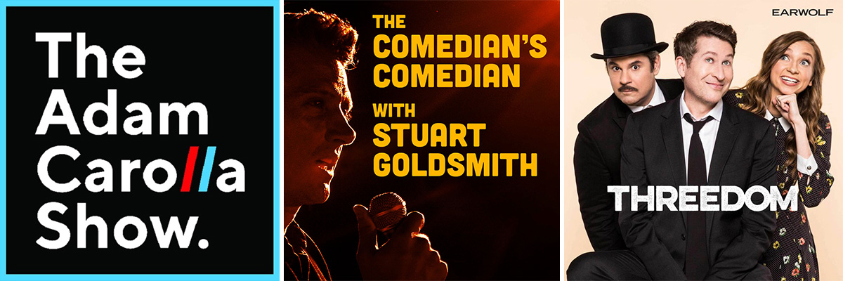 Best comedy podcasts - set 2.