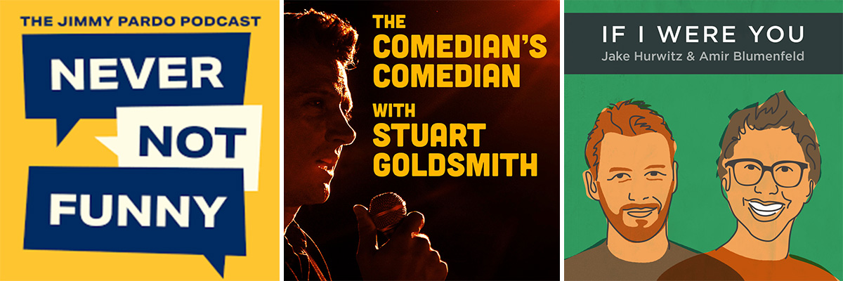 Best comedy podcasts - set 5.