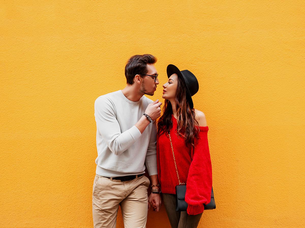Fun date ideas - cute couple having fun.