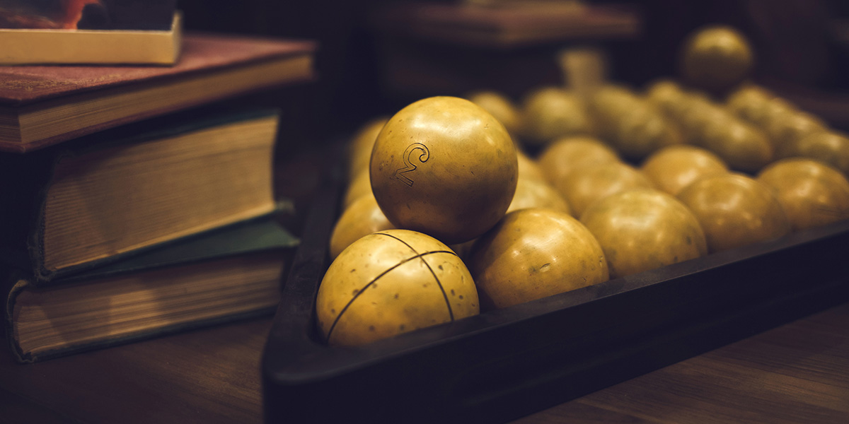The history of billiards.