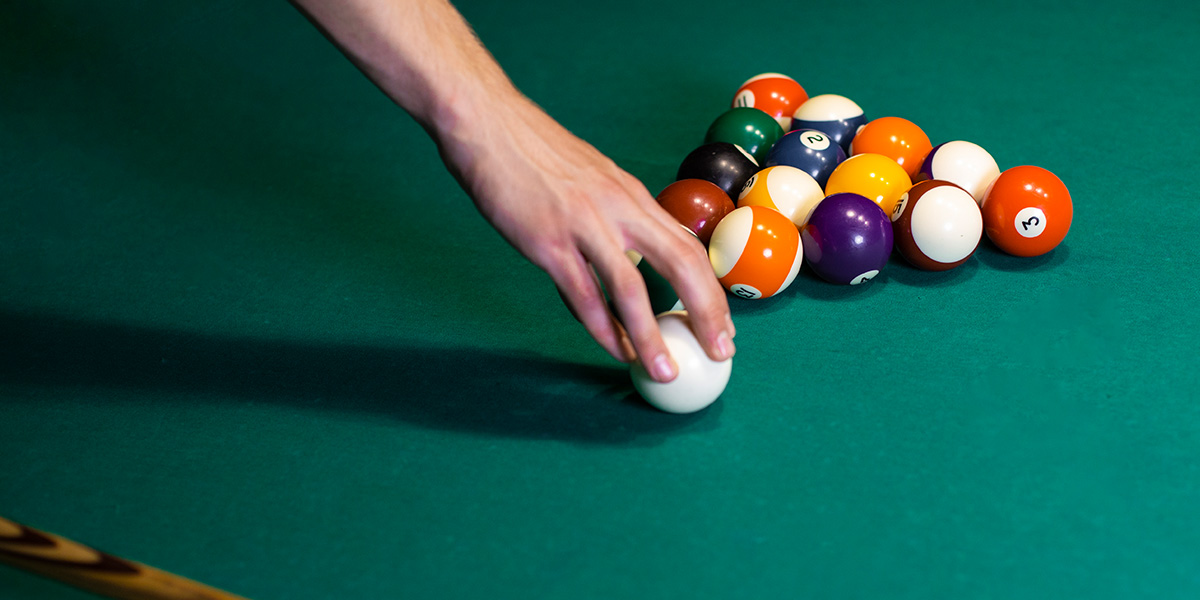 Billiards balls.