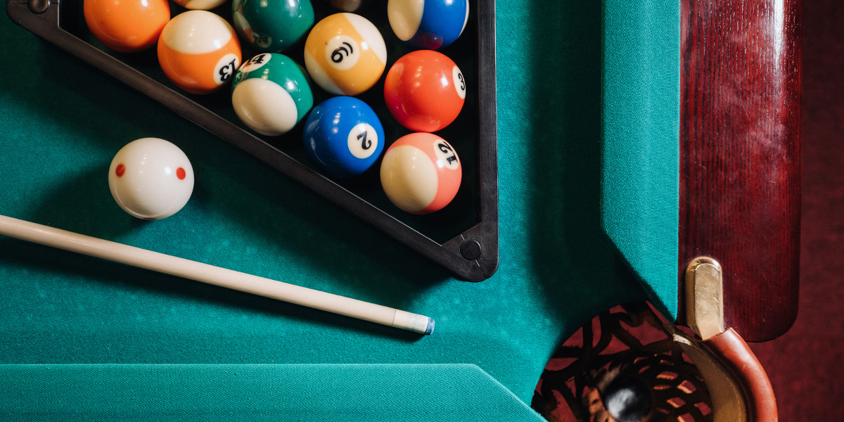 How to get better at pool.