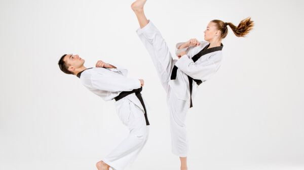 Different types of martial arts.