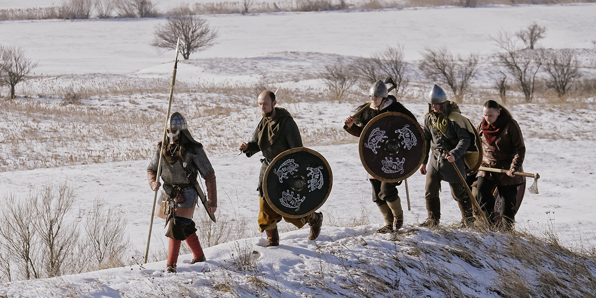 A group of Vikings.
