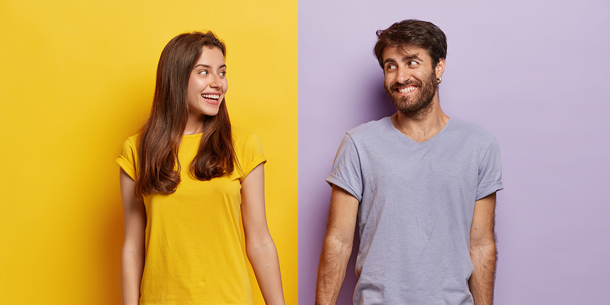 Conversation Starters for Couples - Couple Smiling