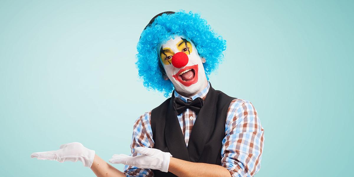 The funniest clown jokes.