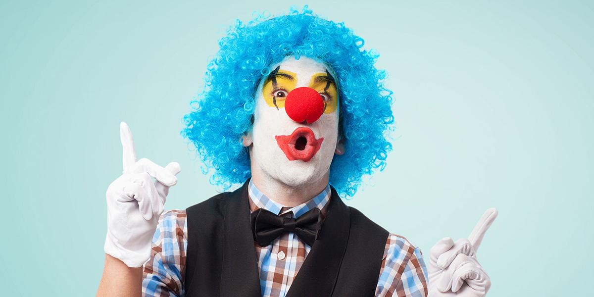 Best clown puns.