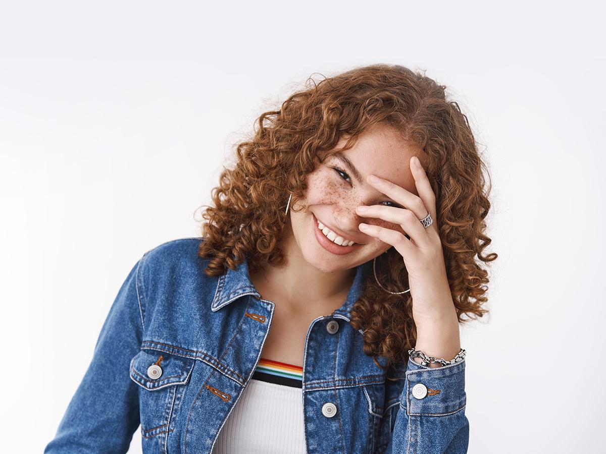 Fun puns - girl smiling